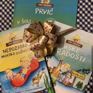 TIMI ODKRIVA - paket knjig
